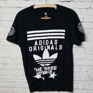 Adidas short sleeve t shirt black